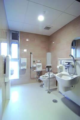 バリアフリートイレの写真