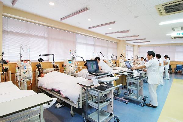 透析室の写真