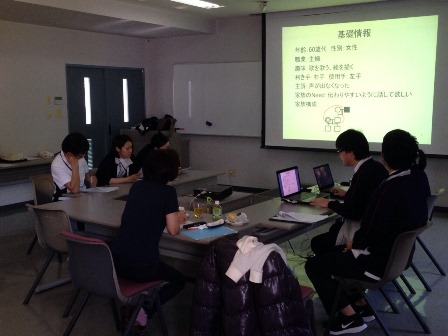 勉強会の様子(ST)
