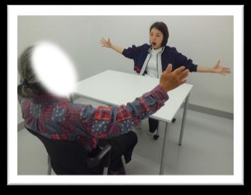 言語聴覚療法のリハビリ風景写真