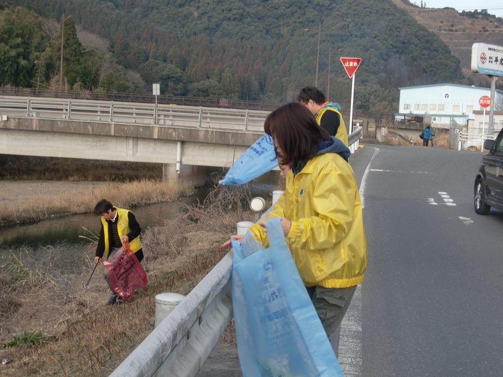 地域清掃活動の写真